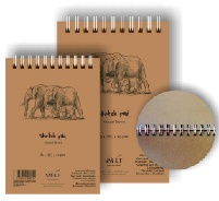 Альбом Sketch pad Natural Brown A4 135г 80л